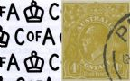 KGV Heads 1931-36 C of A Watermark